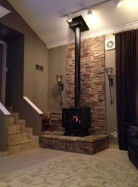 Best 20+ Freestanding fireplace ideas on Pinterest