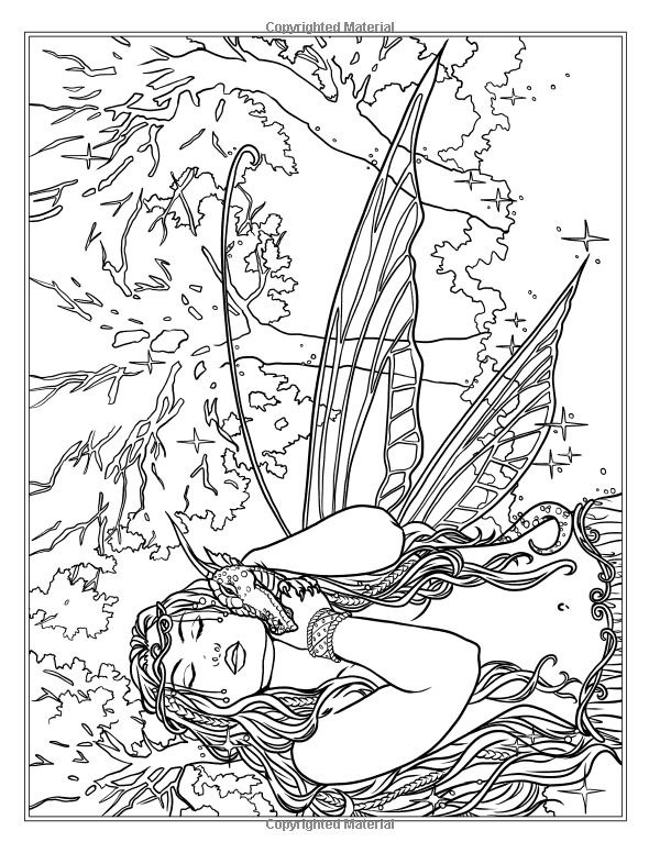 Best 165 Fairie Coloring Pages Images
