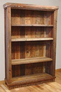 17 Best ideas about Rustic Bookshelf on Pinterest ...