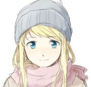 anime beautiful beauty blonde