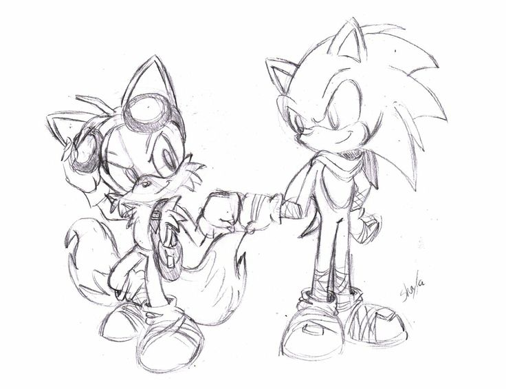 Sonic and Tails: Sonic Boom by ConceptArtSX.deviantart.com