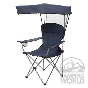 camp chair with canopy elle tufted desk bag - hgt international co ltd cw6040xl-sng folding chairs camping world ...