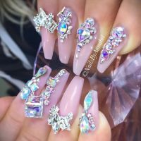 25+ best ideas about Bling Nails on Pinterest | Bling ...