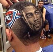 basketball players hair design