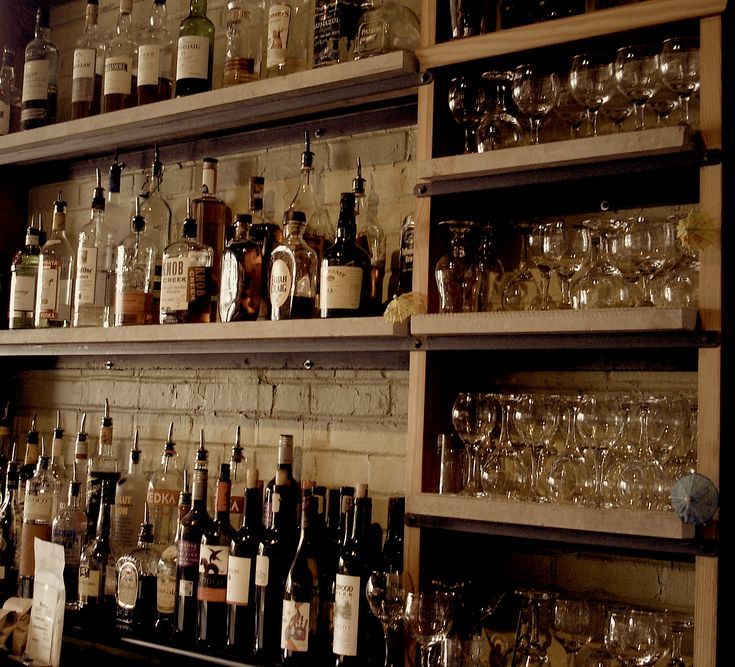 54 best images about Bar Back Ideas on Pinterest  Basement wet bars Restaurant and Open shelving