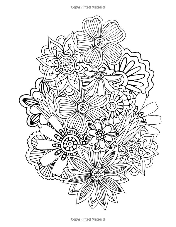 Crazy Quilt Coloring Pages