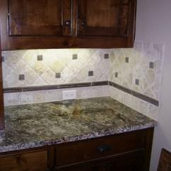 Kitchen Cabinets Ebay Sunflower Accessories Travertine Backsplash... | For The Home Pinterest In ...
