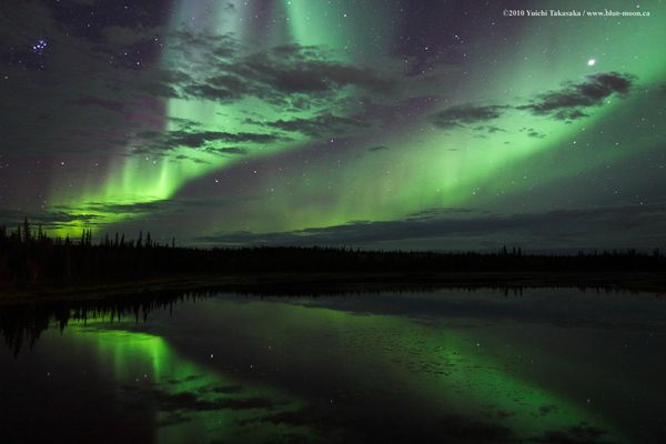 Northern Lights Canada Best Time See