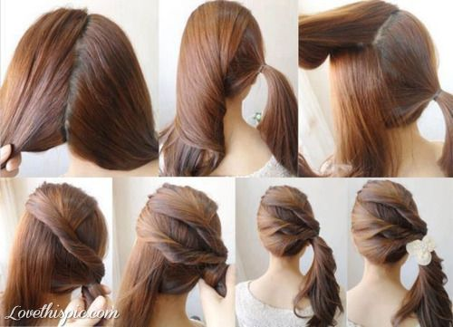 102 Best Images About DIY Little Girls Hair Styles! On Pinterest