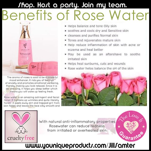 Benefits Of Rose Water By Younique Httpswww