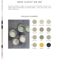 Colour Schemes For Living Rooms Green How To Arrange A Room With Tv Farrow & Ball: Drop Cloth No. 283   Paints Pinterest ...