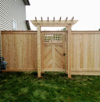 25+ Best Ideas about Fence Gate Design on Pinterest ...