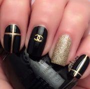 chanel nails design ideas