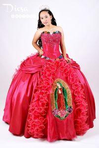Quinceanera Moda - Virgen de Guadalupe Quince Dress | Para ...