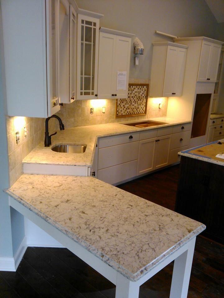 Quartz countertops Vicostone Bianco Romano  Countertops