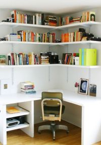 diy corner desk lobe the shelves   Reno ideas   Pinterest ...