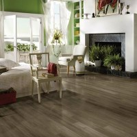 Grey laminate flooring (Home depot)