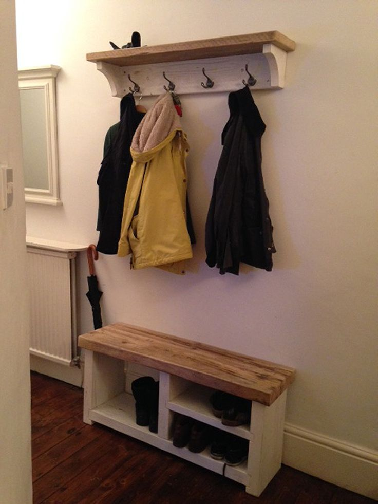 25+ best ideas about Coat and shoe rack on Pinterest