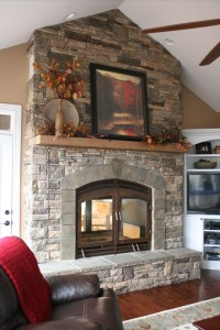 indoor outdoor see through fireplace | Fireplaces ...