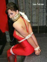 Tied Up With Silk Scarves - Erieairfair