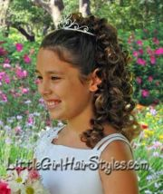 tiara princess hairstyle ideas