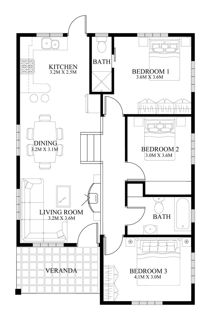 100 Best Images About Floor Plan On Pinterest Modern House