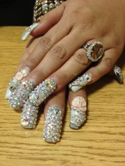 african fancy nails quinceanera