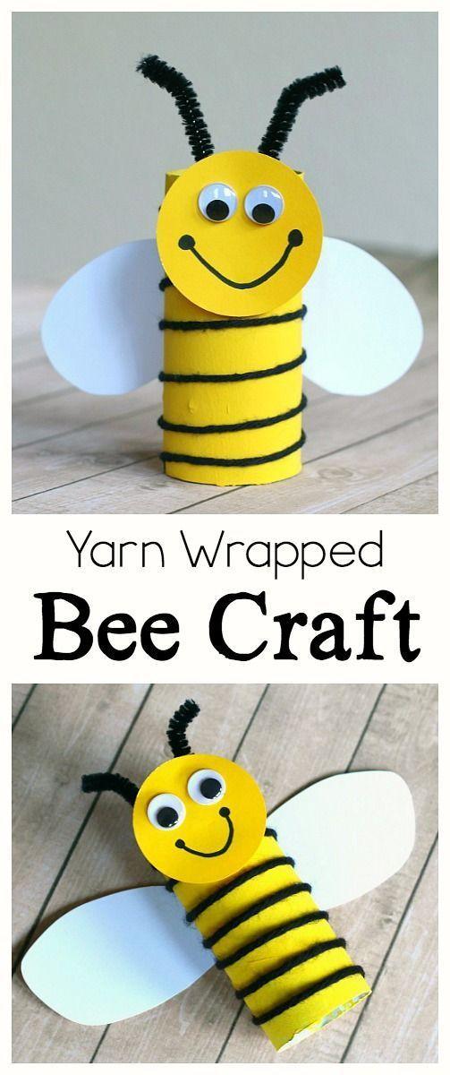 Die Besten 25 Bienen Basteln Ideen Auf Pinterest