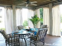 1000+ ideas about Patio Curtains on Pinterest | Outdoor ...