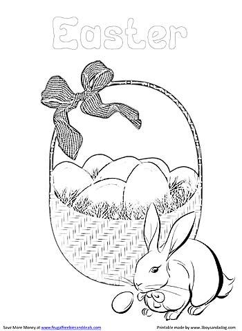 1000+ ideas about Easter Coloring Pages Printable on