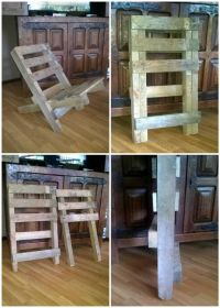 1000+ images about palette on Pinterest | Pallet chair ...