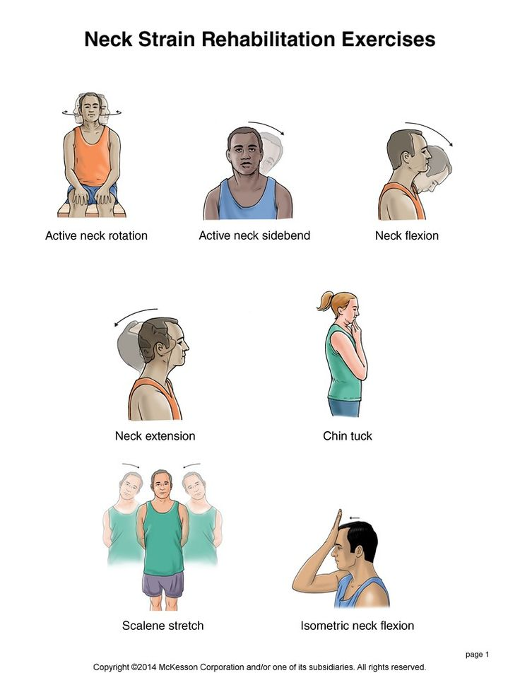 chair exercise for seniors handout ergonomic kmart summit medical group - neck strain exercises | fitness pinterest search, and