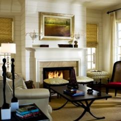 Modern White Living Rooms Room Decor Ideas 2017 Ship Lap Above The Fireplace. | Fireplaces Pinterest ...