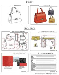 17 Best images about Bag design sketches on Pinterest