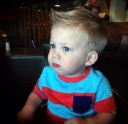 toddler boy haircut little