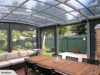 Awesome awnings for permanent sun shade shelter | Pergolas ...