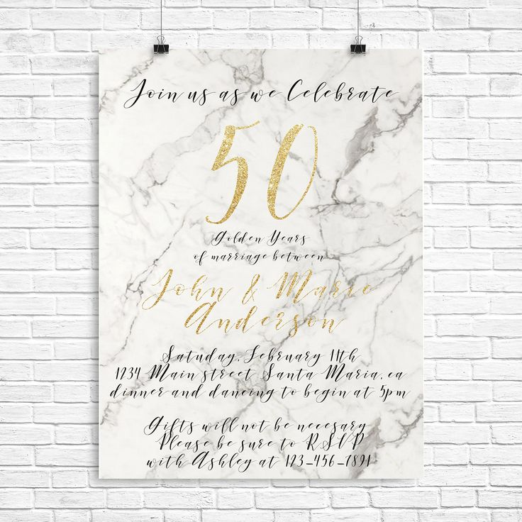 1000+ ideas about Anniversary Invitations on Pinterest