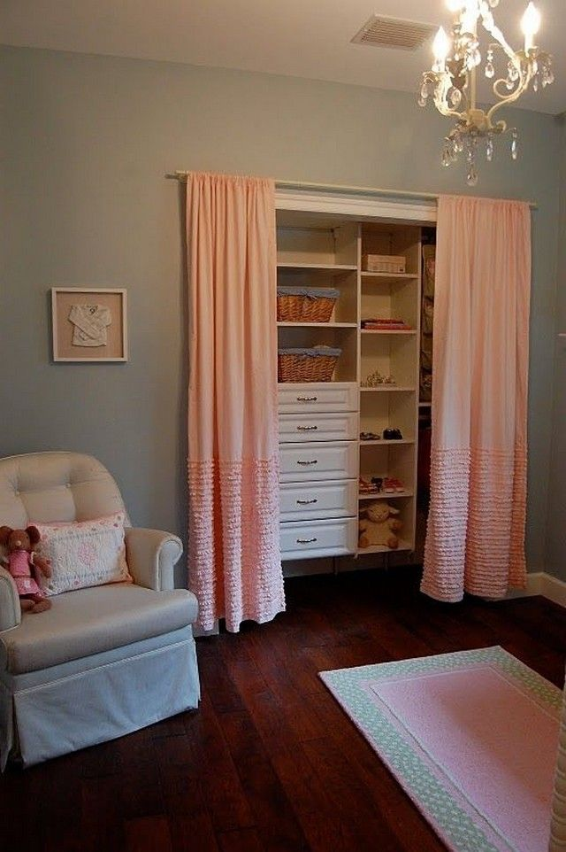 17 Best ideas about Closet Door Curtains on Pinterest