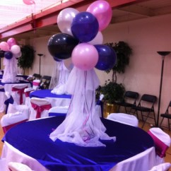Cheap Tables And Chairs Nano Gym Chair Table Decorations For Our Daddy Daughter Dance. Easy To Make. | Books Worth Reading Pinterest ...