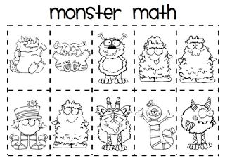 17 Best images about Kindergarten/ Monsters on Pinterest