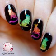 ideas cat nail art