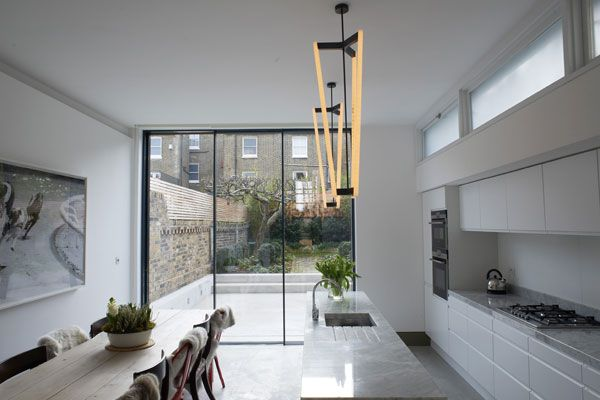 Modern interior design for the classic London terrace house  Gardens Furniture and Modern