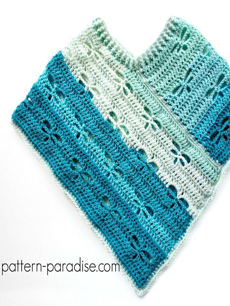 Crochet Doll Poncho Pattern