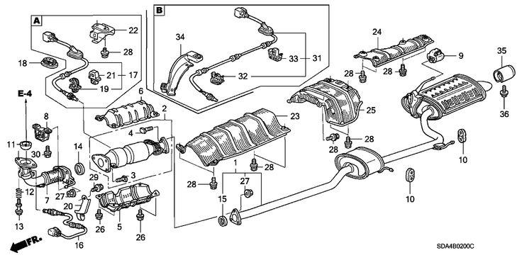 2003 Honda Accord Oxygen Sensor Location, 2003, Get Free