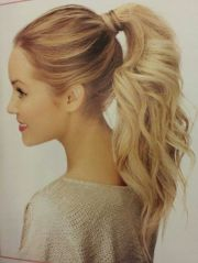 ideas fancy ponytail
