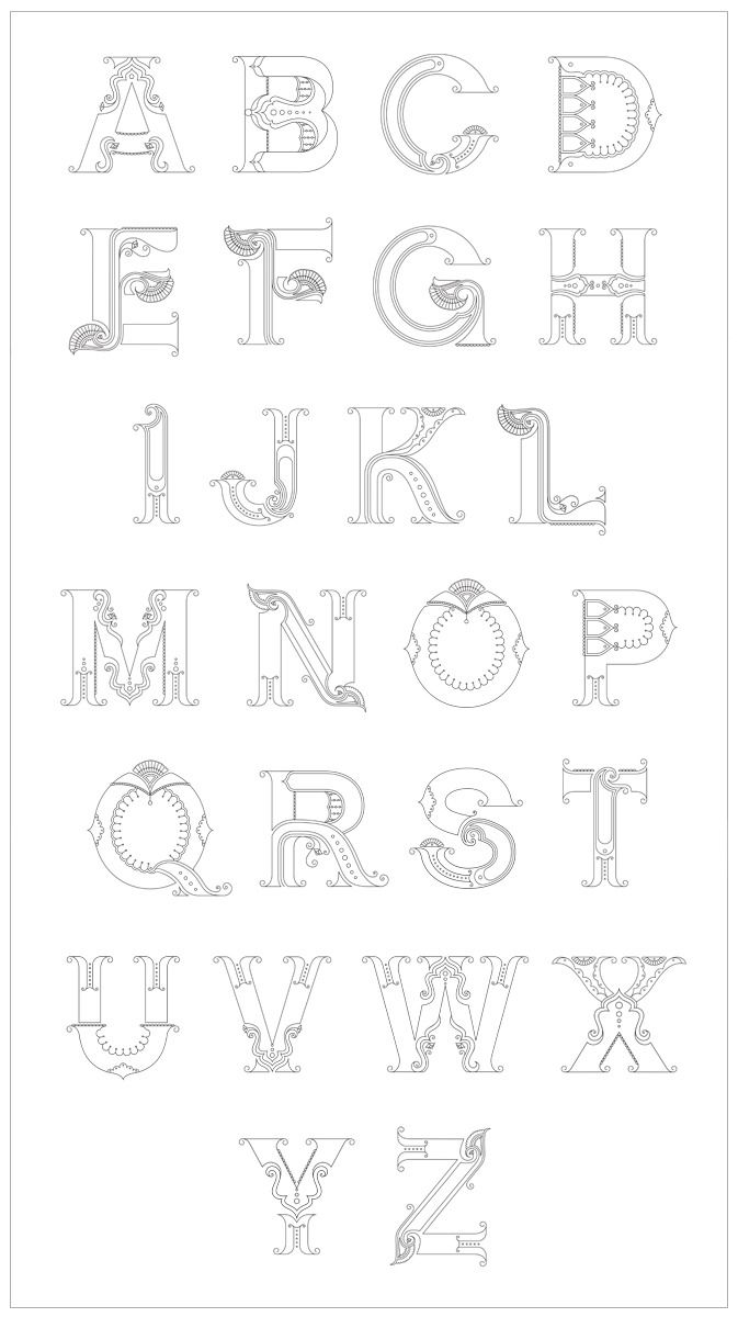 77 best images about [ design ] alphabets on Pinterest