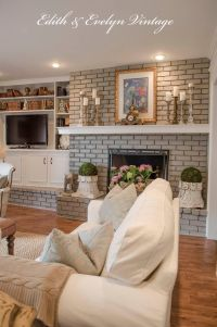 17 Best ideas about Brick Fireplace Mantles on Pinterest ...