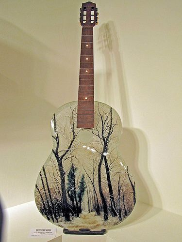 17 Best Images About Stained Glass Guitar On Pinterest