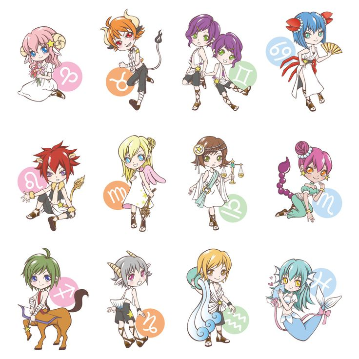 46 Best Images About Anime Zodiac On Pinterest  Chibi