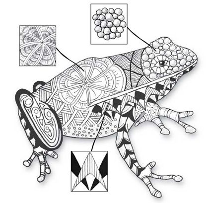 17 Best images about Zentangles & Doodles--Fur-Fins